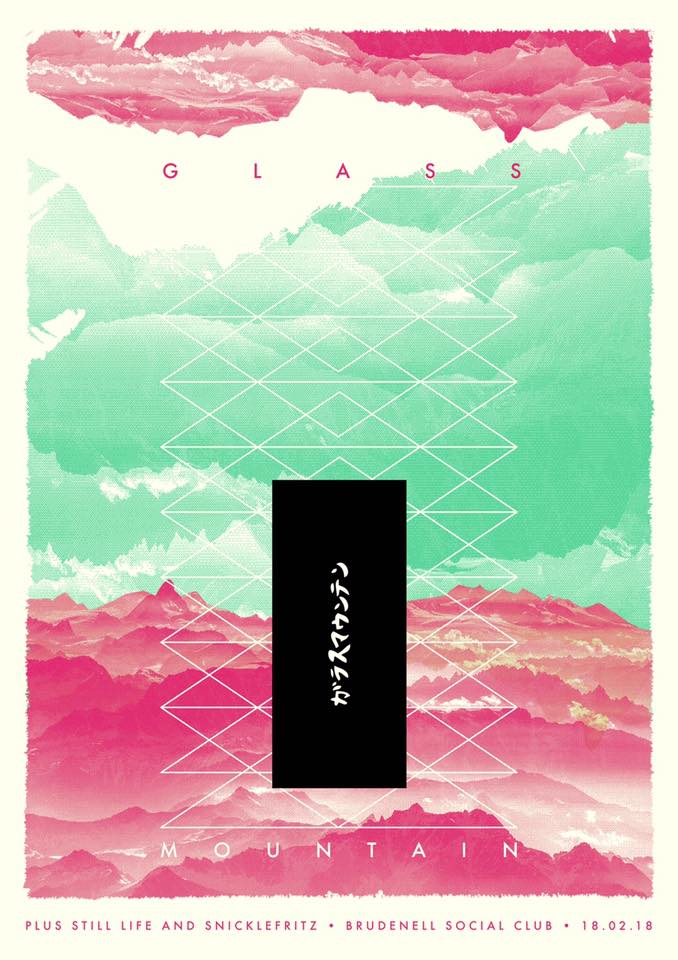Glass Mountain Brudenell Poster