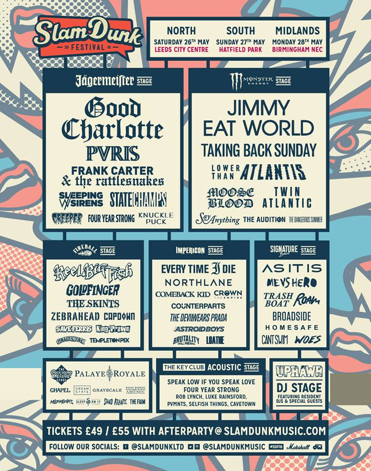 Slam Dunk Stage Splits